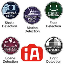 The Intelligent Auto Mode features of the Panasonic LUMIX DMC-FH10