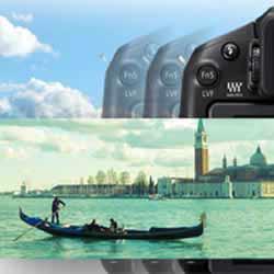 Creative Panorama feature of the  Panasonic LUMIX DMC-G6 compact mirrorless digital camera