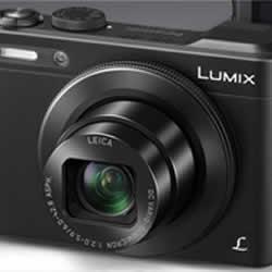 The sleek and stylish Panasonic DMC-LF1 digital camera