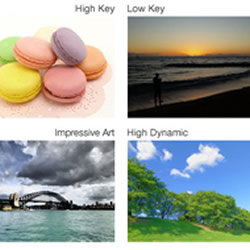 Creative Control features of the Panasonic LUMIX DMC-SZ3
