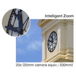20x Intelligent Zoom capabilities of the Panasonic LUMIX DMC-SZ3