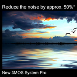Nose reducting capabilities of 3MOS System Pro feature of the Panasonic HC-X920 HD Video Camcorder