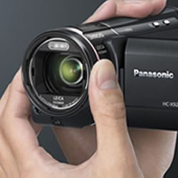 Professional Shooting Functions of the Panasonic HC-X920 HD Video Camcorder