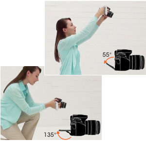 Sony Alpha DSLR Features