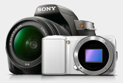 Sony Alpha NEX-3 interchangeable lens camera from Amazon.com