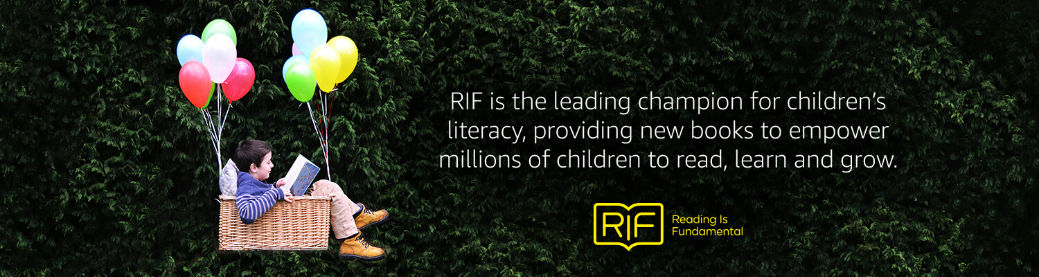 RIF is the leading champion for children's literacy, providing new books to empower millions of children to read, learn and grow.