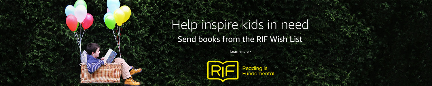 Help inspire kids in need. Send books from the Reading Is Fundamental Wish List.