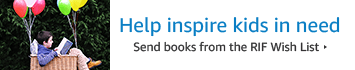 Help inspire kids in need by sending books from the Reading Is Fundamental Wish List