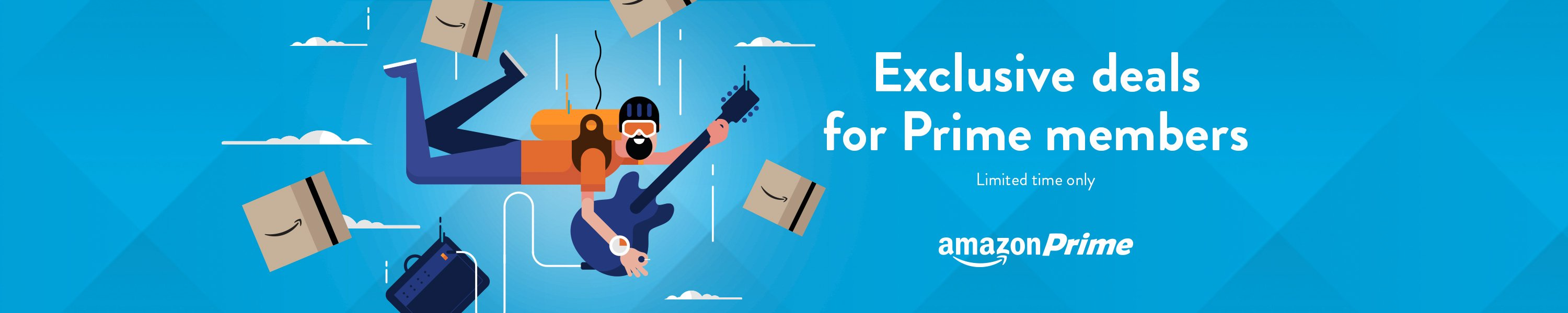 Exclusive deals for Prime members