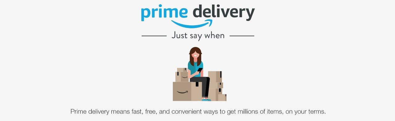 amazoncom prime delivery