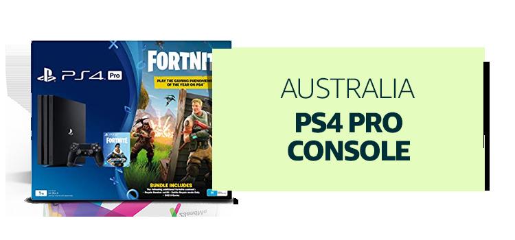 Australia - PS4 Pro Console