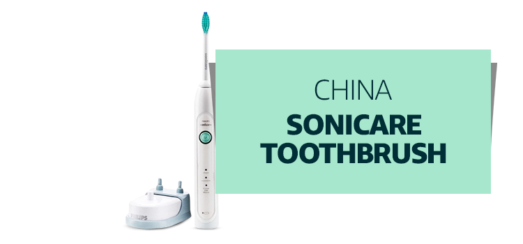 China - Sonicare Toothbrush