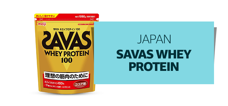 Japan - Savas Whey Protein