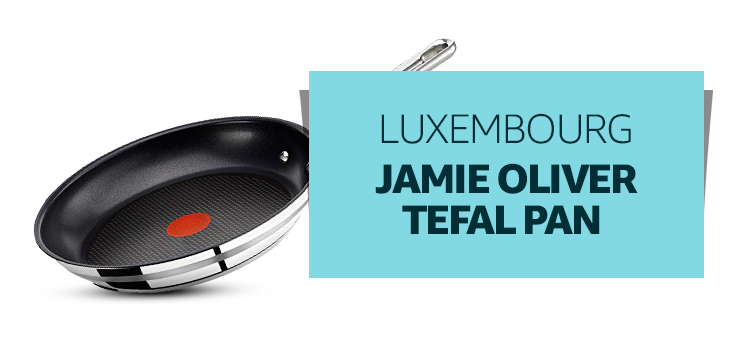Luxembourg - Jamie Oliver Tefal Pan