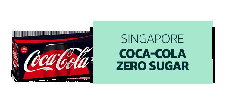 Singapore - Coca-cola Zero Sugar