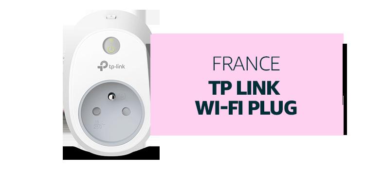 France - TP Link Wi-Fi Plug