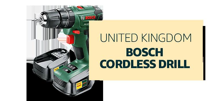 United Kingdom - Bosch Cordless Drill