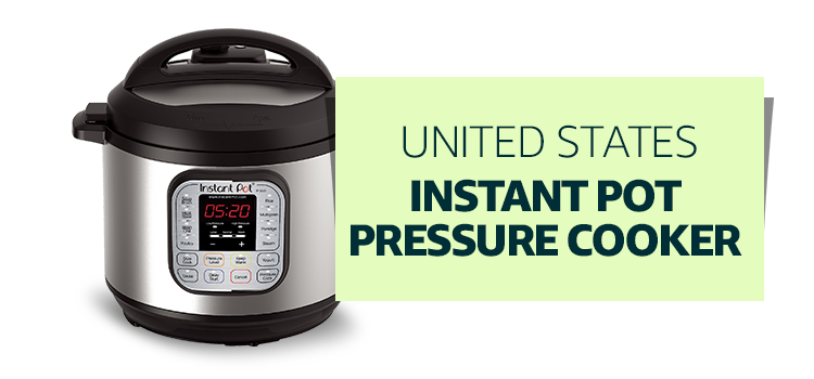 United states - Instant Pot Pressure Cooker