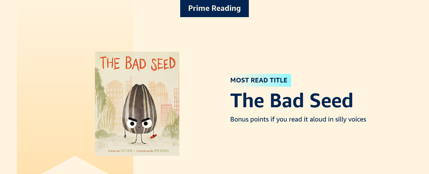 Most read title: The Bad Seed