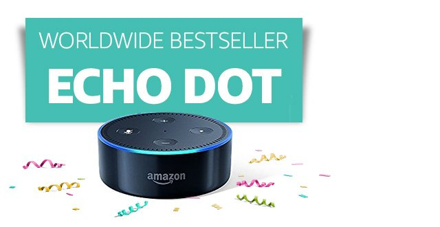 Worldwide bestseller: Echo Dot