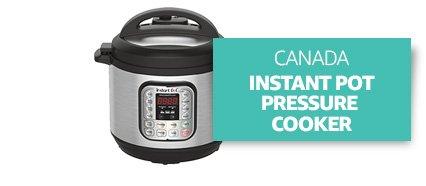 Canada: Instant Pot Pressure Cooker