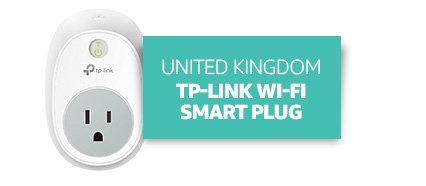 United Kingdom: TP-Link Wi-Fi Smart Plug