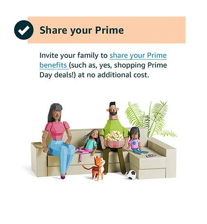 Share your Prime membership