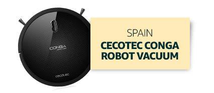 Spain: Cecotec Conga Robot Vacuum