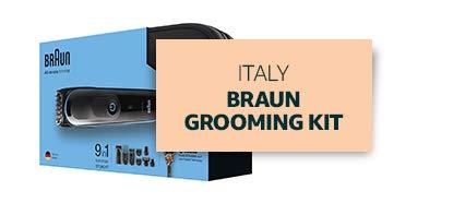 Italy: Braun Grooming Kit