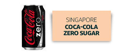 Singapore: Coca-Cola Zero Sugar