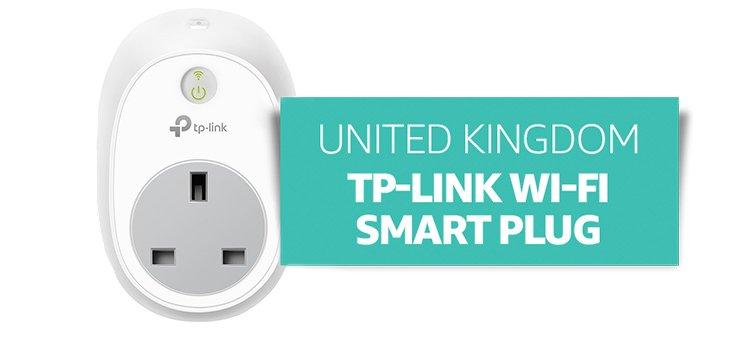 United Kingdom: TP-Link Wi-Fi Smart Plug