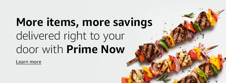 More items, more savings delivered right to your door with Prime