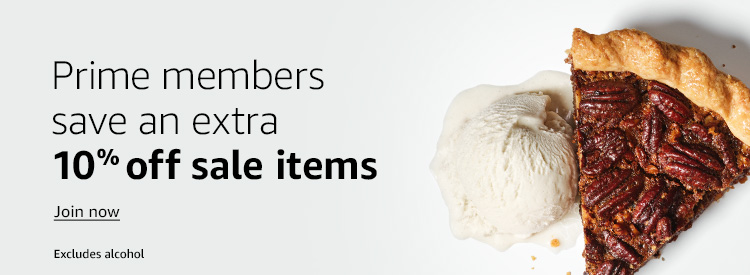 Even more special savings for Prime members Shop now