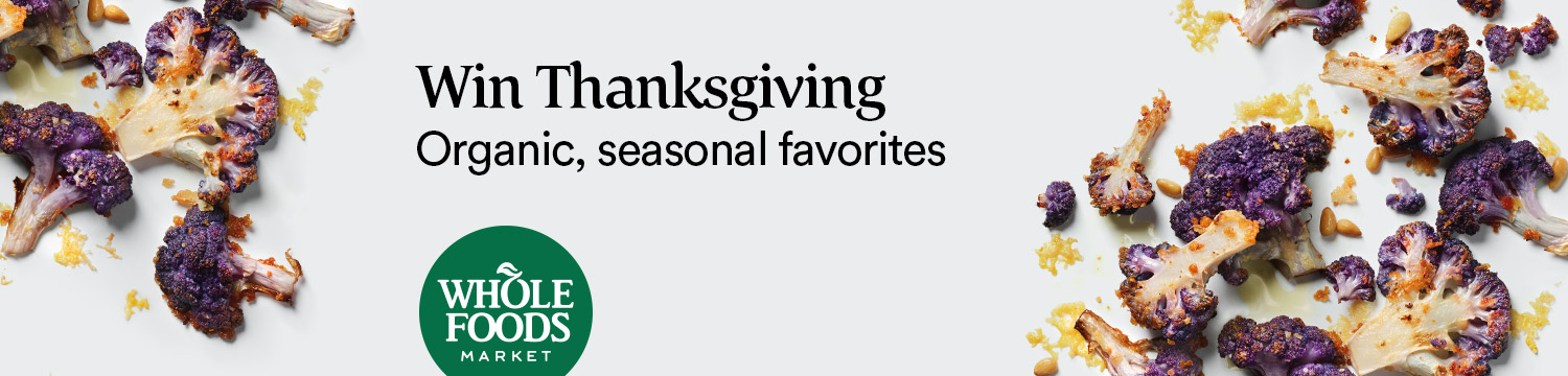 Win Thanksgiving Organic, seasonal favorites