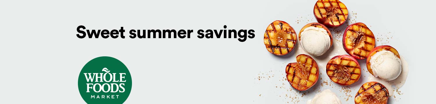 Sweet summer savings Just for Prime members