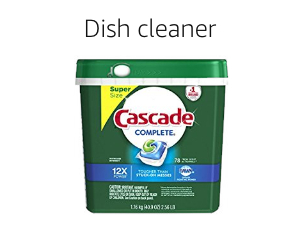Dish cleaner