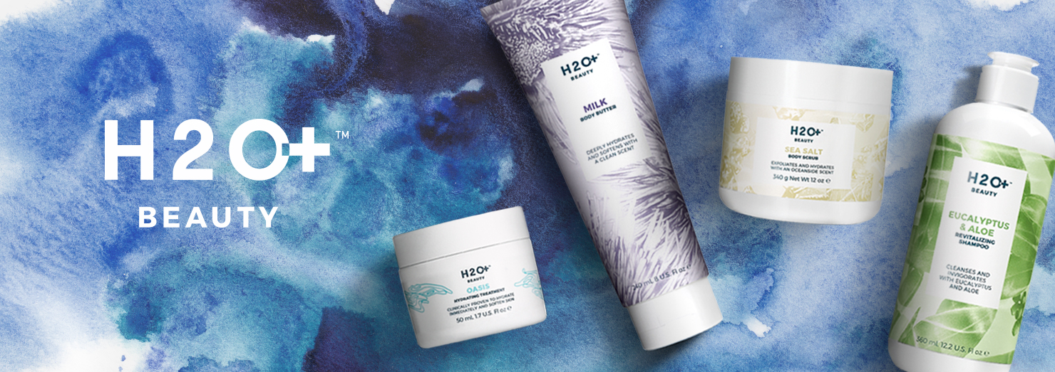 explore the full line of H2O+ Skin Care at Beautybar.com