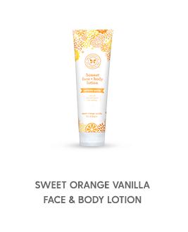 Sweet Orange Vanilla Face & Body Lotion