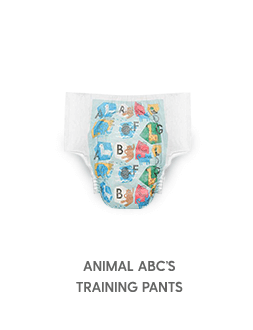 Training Pants Animal ABC's