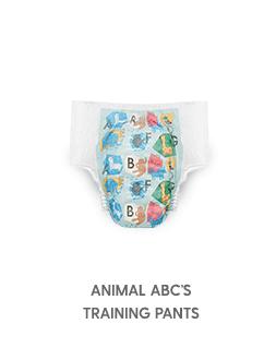 Training Pants Animal ABC's