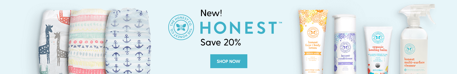 Introducing Honest - 20% OFF