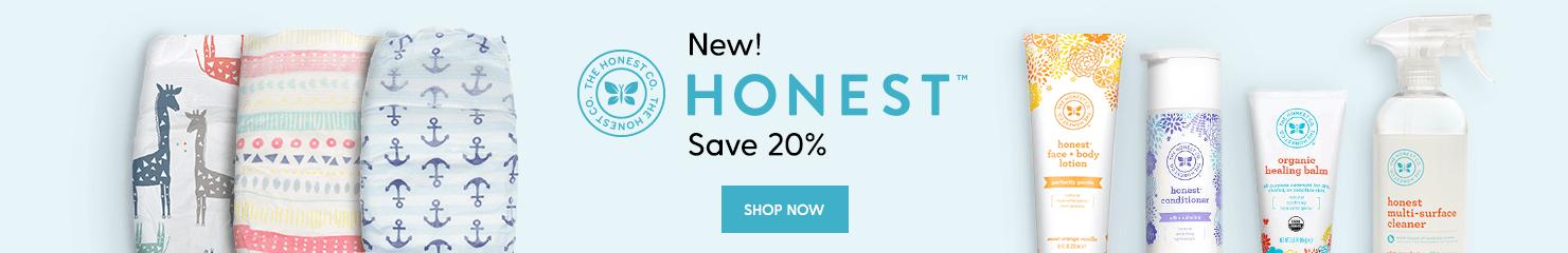 Introducing Honest - 20% OFF