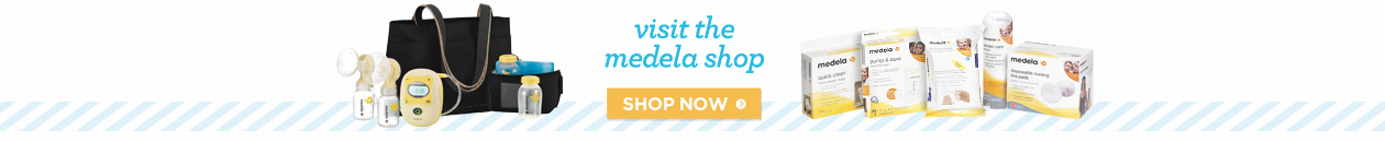 Medela Brand Page Search Banner