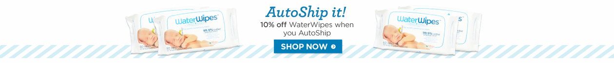 Autoship WaterWipes and save