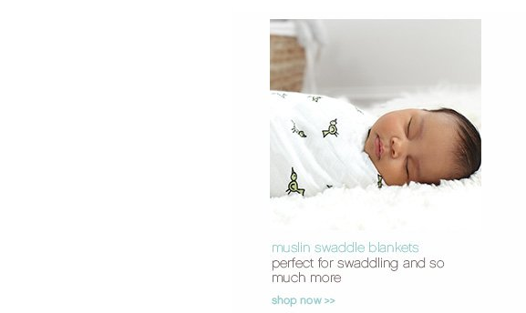 muslin swaddle blankets. perfect for swaddling and so much more. shop now