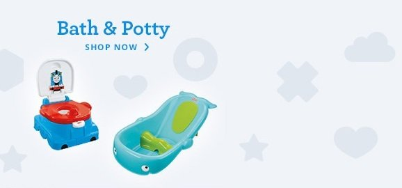 Shop bath & potty
