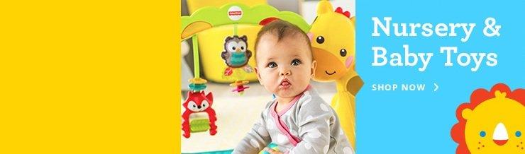 Shop Nursery & Baby Toys