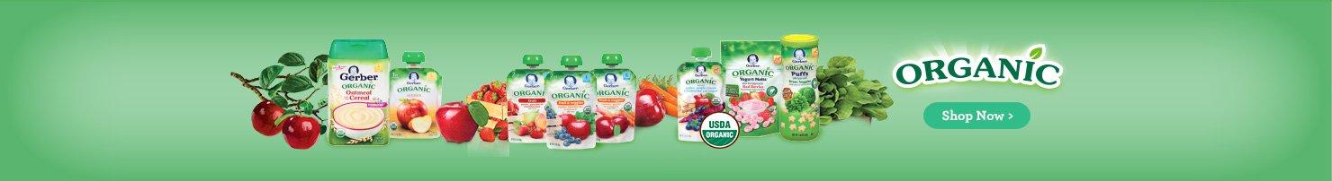 gerber USDA organic