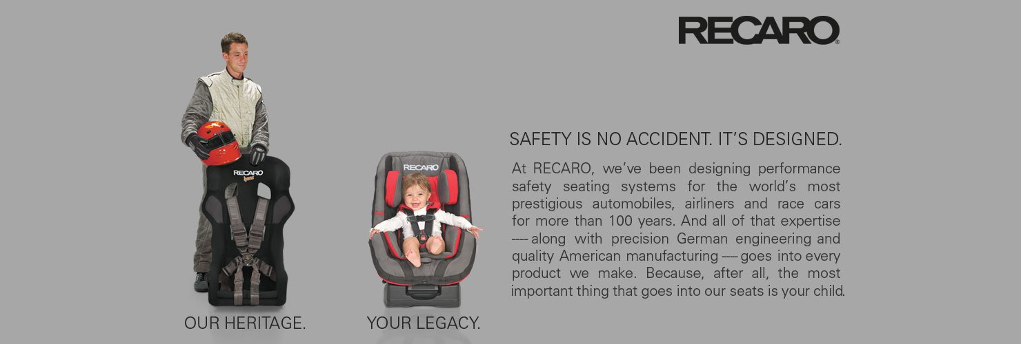 Recaro: Safety is no accident. It's designed.