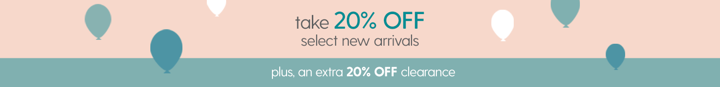 20% off Clearance Clothing & Shoes AND 20% off New Arrivals